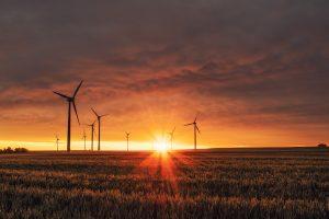 renewable energy sunset